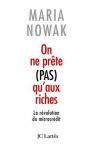 """Couverture du livre : """"On ne prête pas qu'aux riches"""""""