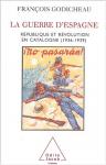 """Couverture du livre : """"La guerre d'Espagne"""""""
