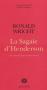 """Couverture du livre : """"La sagaie d'Henderson"""""""