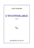 """Couverture du livre : """"L'inconsolable"""""""