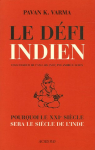 """Couverture du livre : """"Le défi indien"""""""