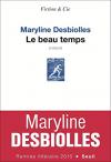 """Couverture du livre : """"Le beau temps"""""""