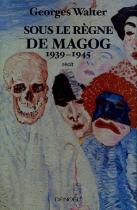 """Couverture du livre : """"Sous le règne de Magog"""""""