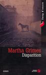 """Couverture du livre : """"Disparition"""""""