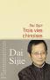 """Couverture du livre : """"Trois vies chinoises"""""""