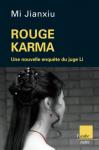 """Couverture du livre : """"Rouge karma"""""""