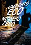 """Couverture du livre : """"Numéro zéro"""""""