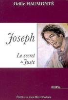"""Couverture du livre : """"Joseph, le secret du juste"""""""
