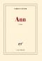 """Couverture du livre : """"Ann"""""""