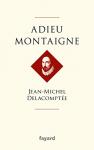 """Couverture du livre : """"Adieu Montaigne"""""""