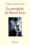 """Couverture du livre : """"Le parapluie de Simon Leys"""""""