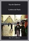 """Couverture du livre : """"Lettres de Paris"""""""