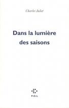 """Couverture du livre : """"Dans la lumière des saisons"""""""
