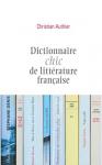 """Couverture du livre : """"Dictionnaire chic de la littérature"""""""