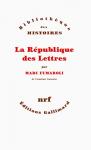 """Couverture du livre : """"La République des lettres"""""""