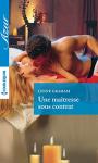 """Couverture du livre : """"Une maîtresse sous contrat"""""""