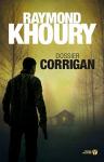"""Couverture du livre : """"Dossier Corrigan"""""""