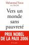 """Couverture du livre : """"Vers un monde sans pauvreté"""""""