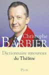 """Couverture du livre : """"Dictionnaire amoureux du théâtre"""""""
