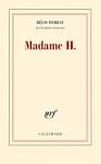 """Couverture du livre : """"Madame H."""""""