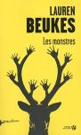 """Couverture du livre : """"Les monstres"""""""