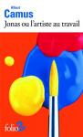"""Couverture du livre : """"Jonas ou l'artiste au travail"""""""