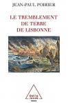 """Couverture du livre : """"Le tremblement de terre de Lisbonne"""""""