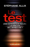 """Couverture du livre : """"Le test"""""""