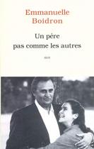 """Couverture du livre : """"Un père pas comme les autres"""""""