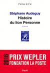 """Couverture du livre : """"Histoire du lion Personne"""""""