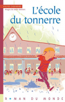 """Couverture du livre : """"L'école du tonnerre"""""""