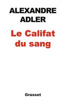"""Couverture du livre : """"Le califat du sang"""""""