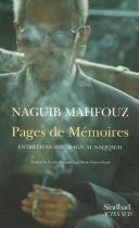 """Couverture du livre : """"Pages de mémoires"""""""