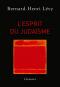 """Couverture du livre : """"L'esprit du judaïsme"""""""