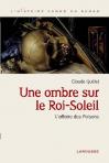 """Couverture du livre : """"Une ombre sur le Roi-Soleil"""""""