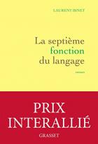 """Couverture du livre : """"La septième fonction du langage"""""""