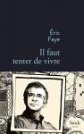 """Couverture du livre : """"Il faut tenter de vivre"""""""