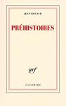 """Couverture du livre : """"Préhistoires"""""""