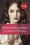 """Couverture du livre : """"La passion d'Emma"""""""