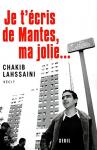 """Couverture du livre : """"Je t'écris de Mantes, ma jolie"""""""