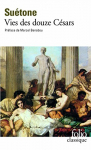 """Couverture du livre : """"Vies des douze Césars"""""""