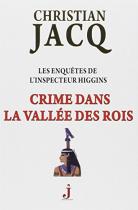 """Couverture du livre : """"Crime dans la vallée des Rois"""""""