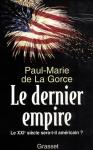 """Couverture du livre : """"Le dernier empire"""""""