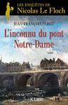 """Couverture du livre : """"L'inconnu du pont Notre-Dame"""""""