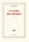 """Couverture du livre : """"Le livre des départs"""""""