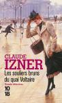 """Couverture du livre : """"Les souliers bruns du quai Voltaire"""""""