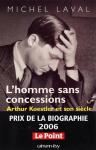 """Couverture du livre : """"L'homme sans concessions"""""""