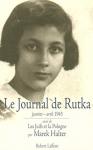 """Couverture du livre : """"Le journal de Rutka"""""""