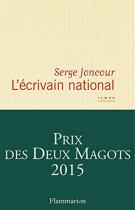 """Couverture du livre : """"L'écrivain national"""""""