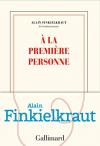 """Couverture du livre : """"À la première personne"""""""